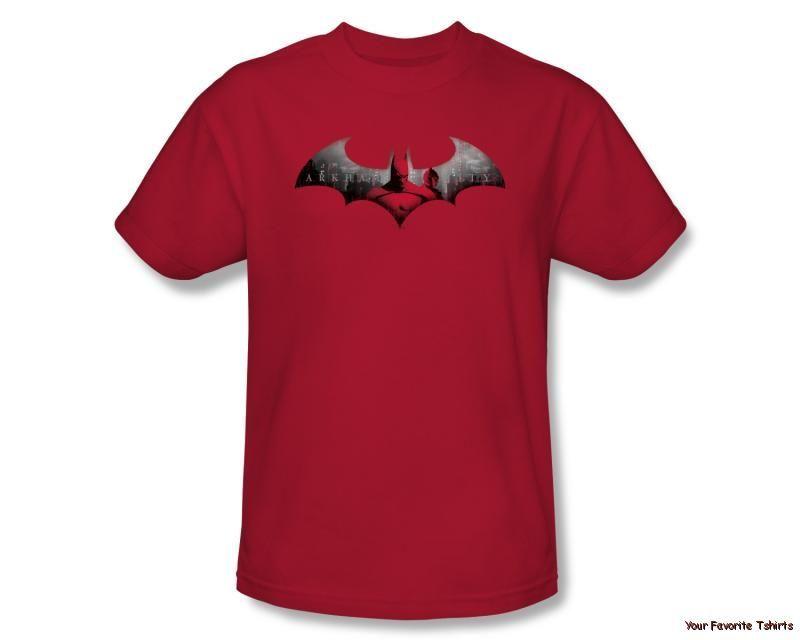 Licensed Batman Arkham City in The City Adult Shirt