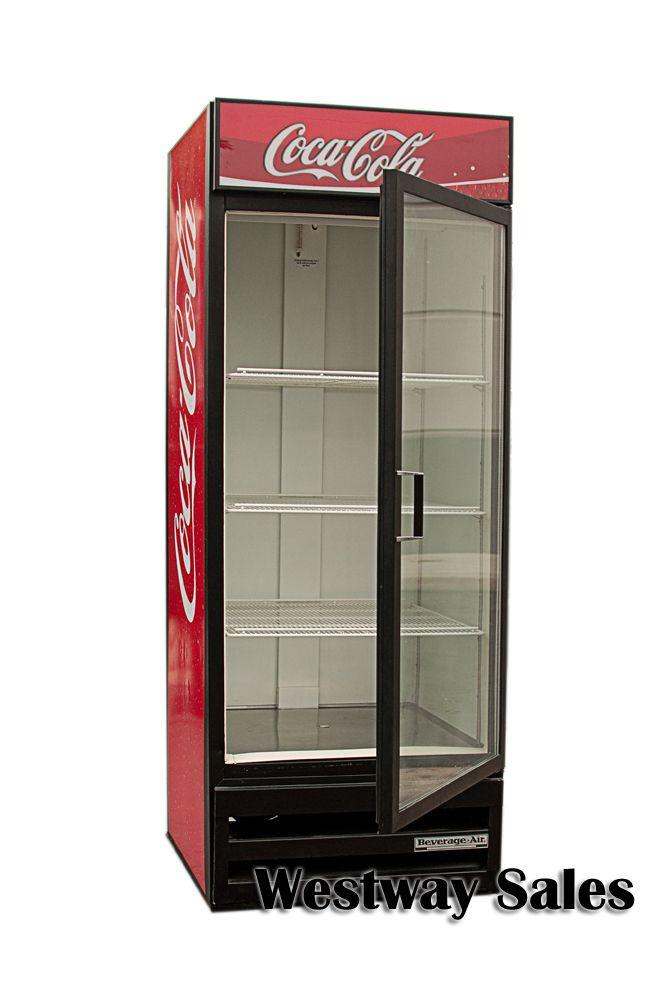 Beverage Air Mt27 Coca Cola Glass Door Refrigerator Soda Merchandiser