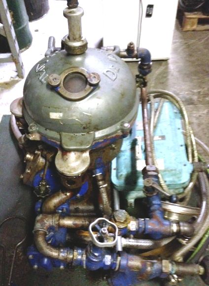 Centrifuge used for wvo cooking oil & bio diesel fuel filter
