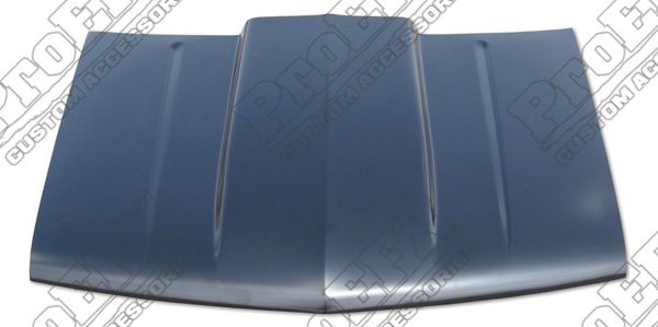 Proefx Cowl Induction Hood with Straight Cowl Chevy GMC Trucks SUVs
