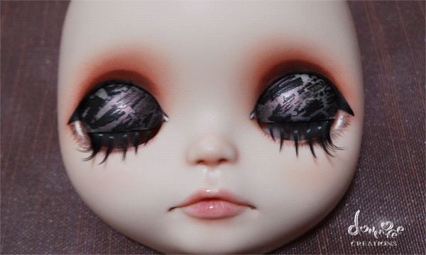 OOAK Custom Blythe Caramel Macchiatto by Dollmofee