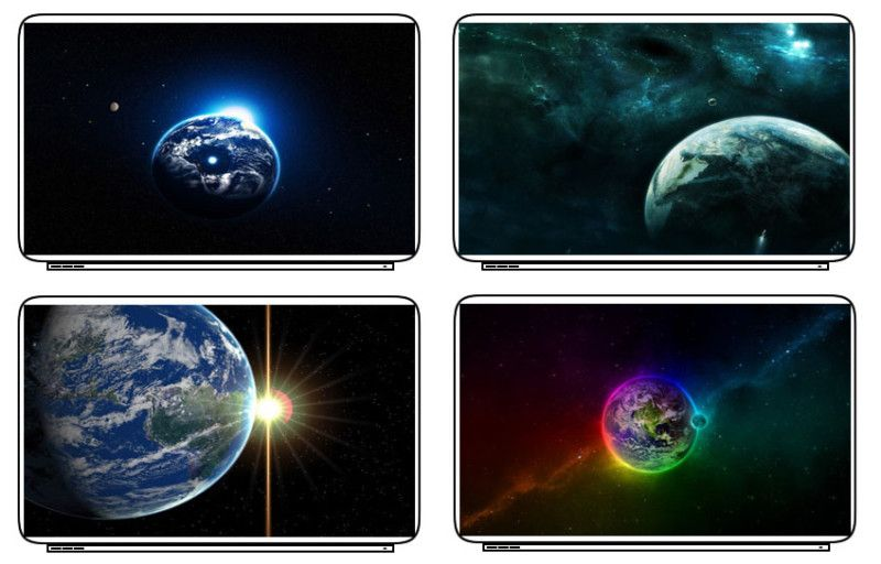 Planet Earth Laptop Netbook Skin Decal Cover Sticker