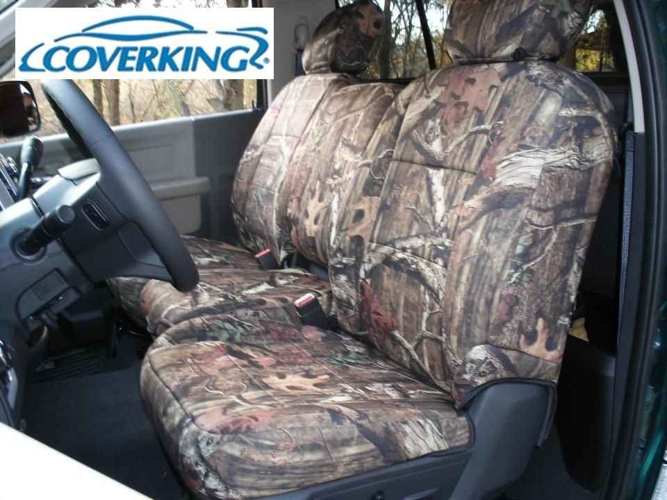 Dodge Ram 1500 Coverking Realtree Hardwood Neoprene Seat Covers Camo