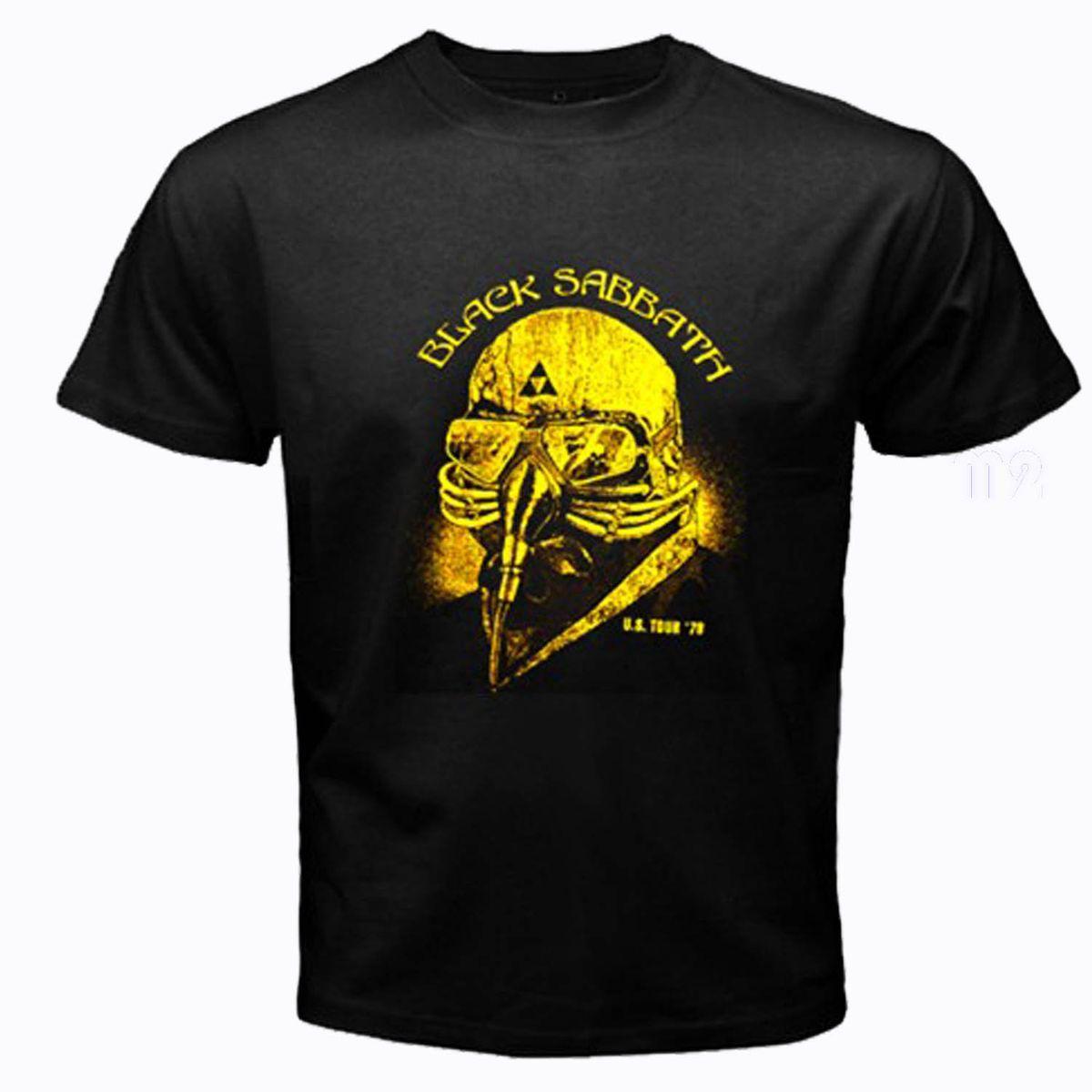 Sabbath tour t shist tony stark iron man avengers robert downey S 3XL