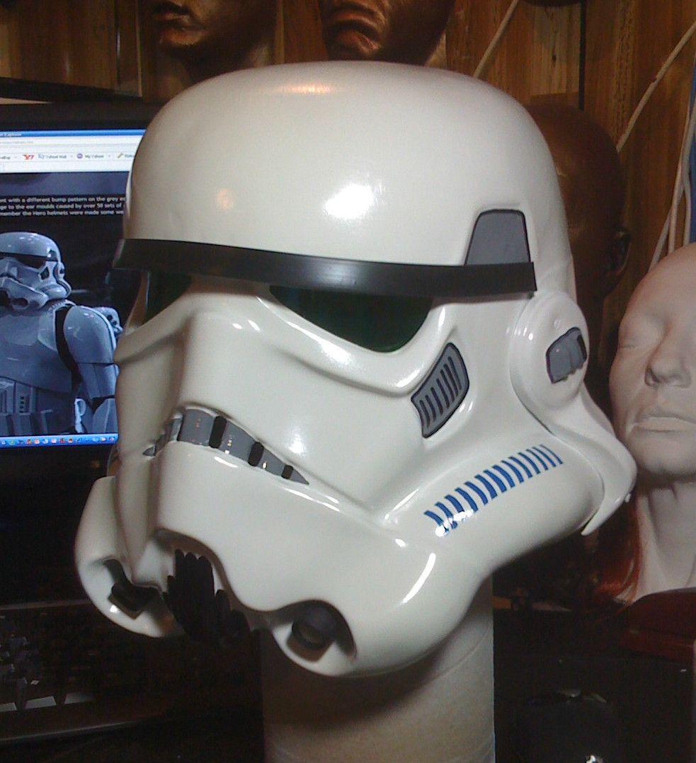 Star Wars ANH Stormtrooper Hero Helmet Kit Bright White