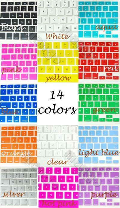Silicone Keyboard Cover Skin for MacBook Pro Regular