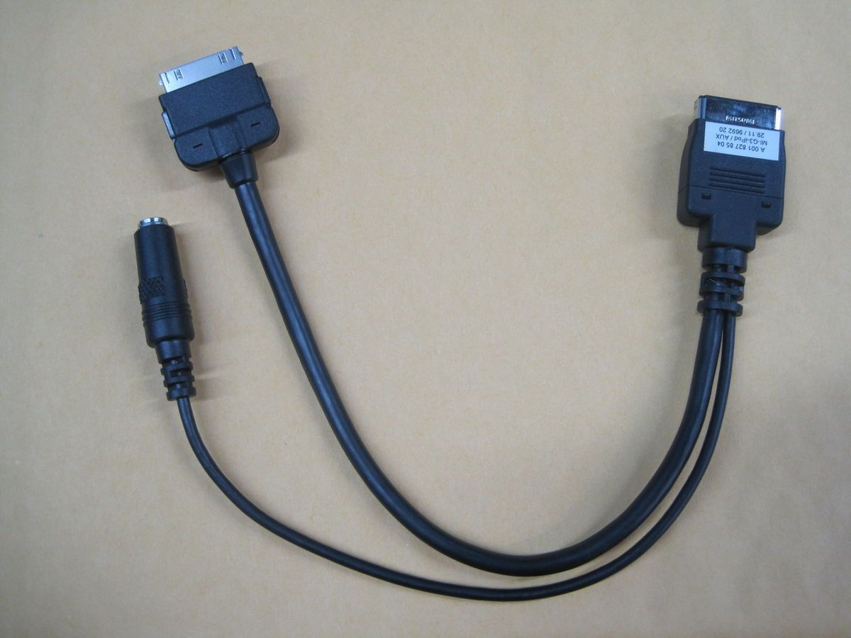 Mercedes iPod iPhone Aux Cable Adapter Interface Part A 001 827 85 04