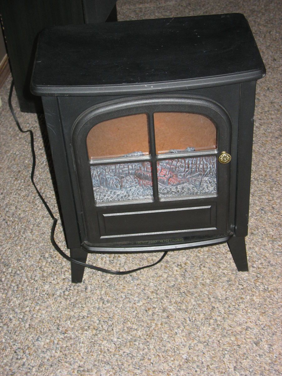 Allen Electric Portable Stove Fireplace Intertek HT St 1006