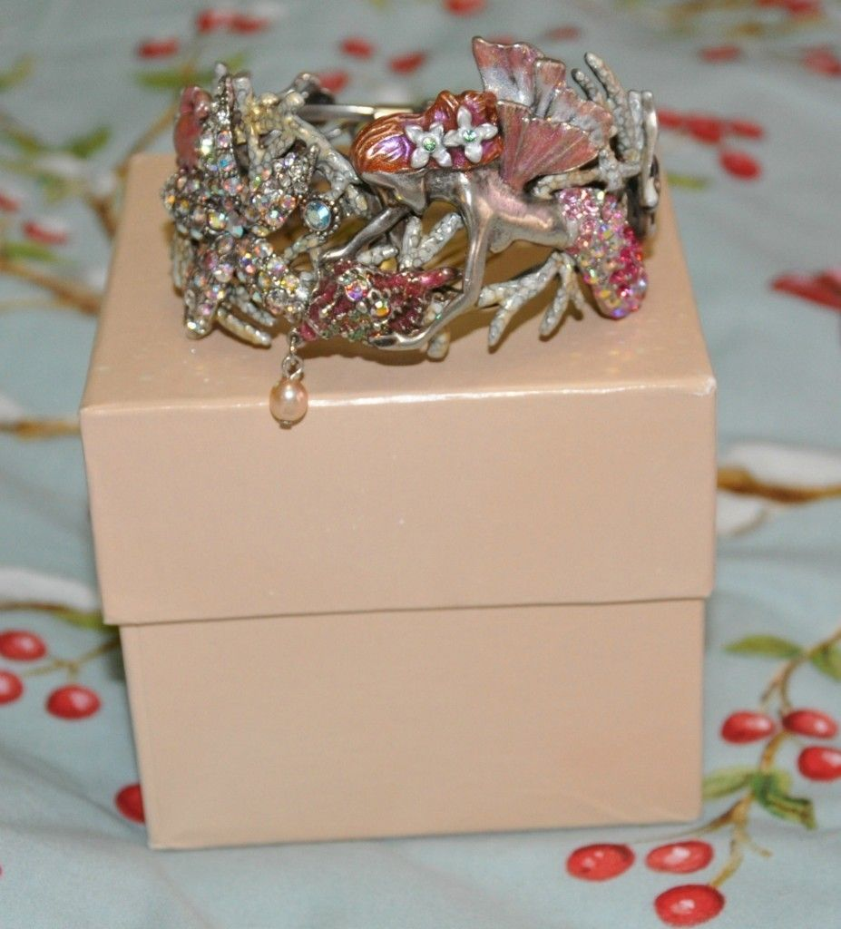 Kirks Folly Mermaid Cuff Bracelet NWB