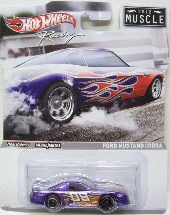 Ford Mustang Cobra Muscle 2012 Hot Wheels Racing Diecast Model 1 64