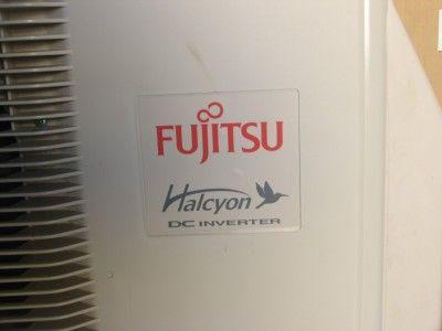 Fujitsu 12RLS Wall Ductless Air Conditioner / Heat Pump 25 SEER 12,000