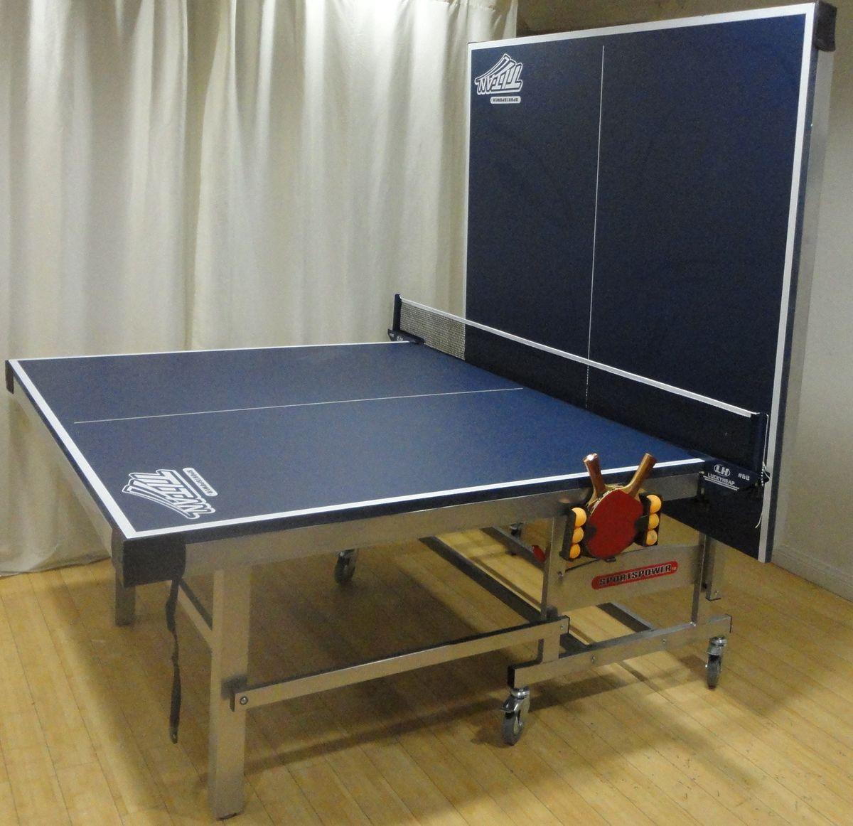 Sportspower Titan 2 Piece Table Tennis Set Ping Pong Table