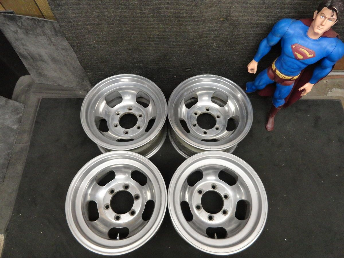 15 x 8 5 SLOTS CHEVY GMC CK 1500 Wheels AR Rims 6 LUG Silverado Sierra
