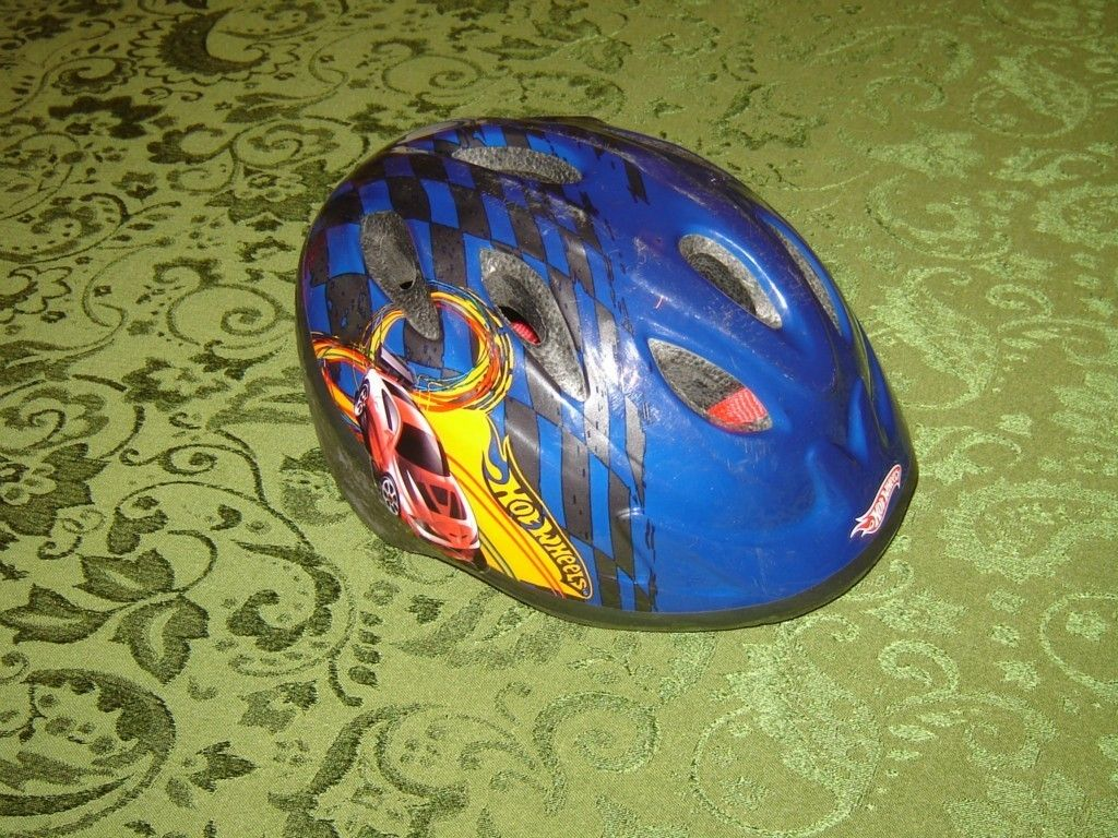 Hot Wheels Child 5 Years Bicycle Bike Safety Helmet