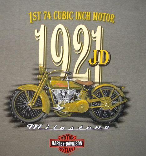 New Harley Davidson Motorcycle T Shirt Medium Waterford MI Bike Hog