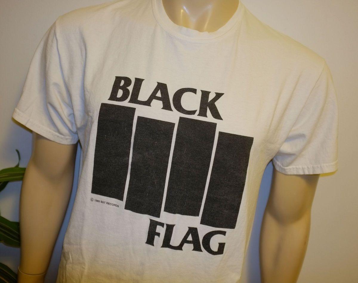 BLACK FLAG* vtg punk rock concert shirt (XL) 80s Glenn Danzig Misfits