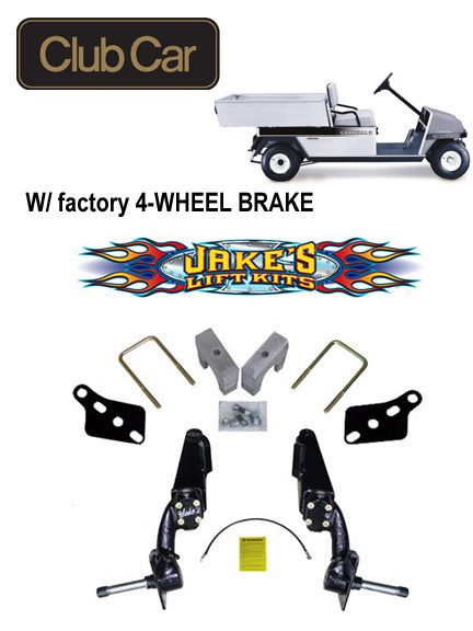 Club Car Golf Cart Carry All Jakes 6 Spindle Lift Kit 6233 Free