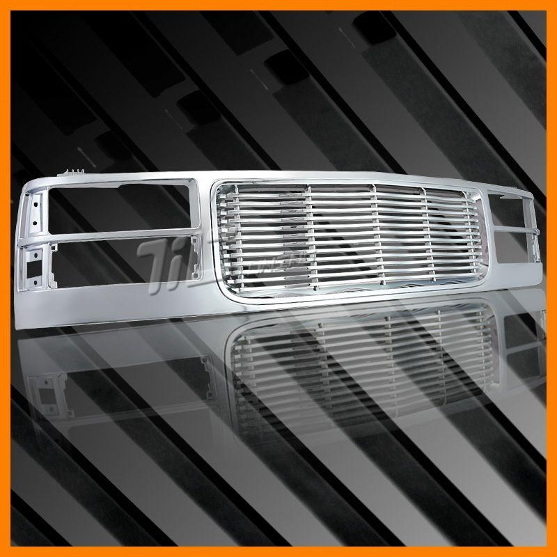 94 95 99 GMC Suburban Yukon C K Pickup Truck Chrome Front Grille New