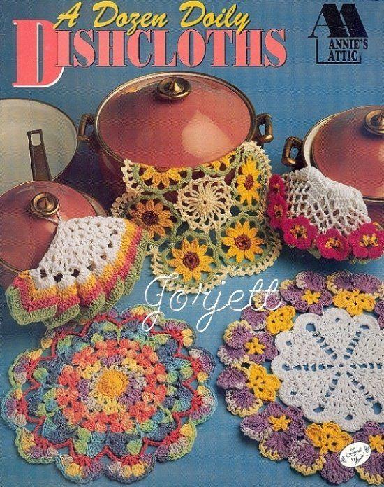 Dozen Doily Dishcloths Annies Crochet Patterns