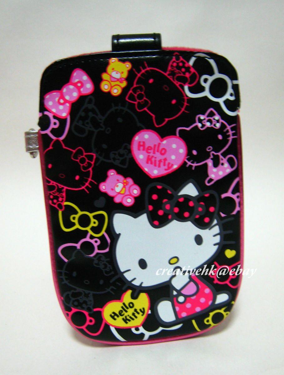 Sanrio Hello Kitty Mobile Cell Phone Digital Camera  PU Pouch Case