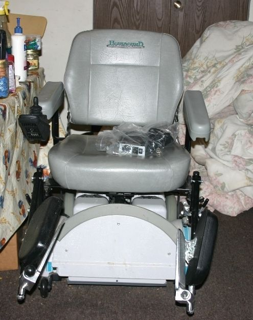 & Hoveround Electric Power Chair