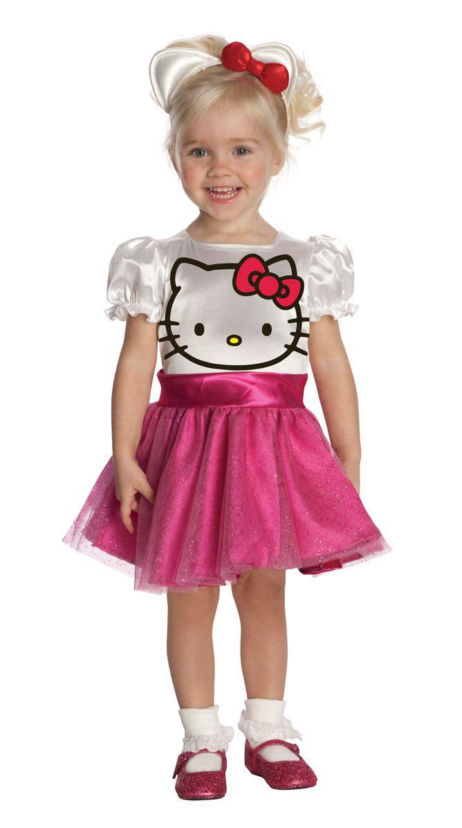 Hello Kitty Tutu Dress Costume Child New