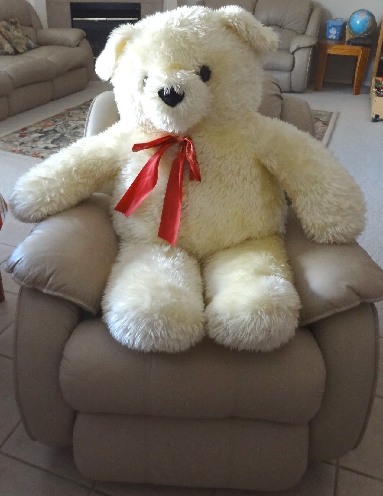 New Big Hugh Giant Stuffed Teddy Bear Dallas DFW TX P U