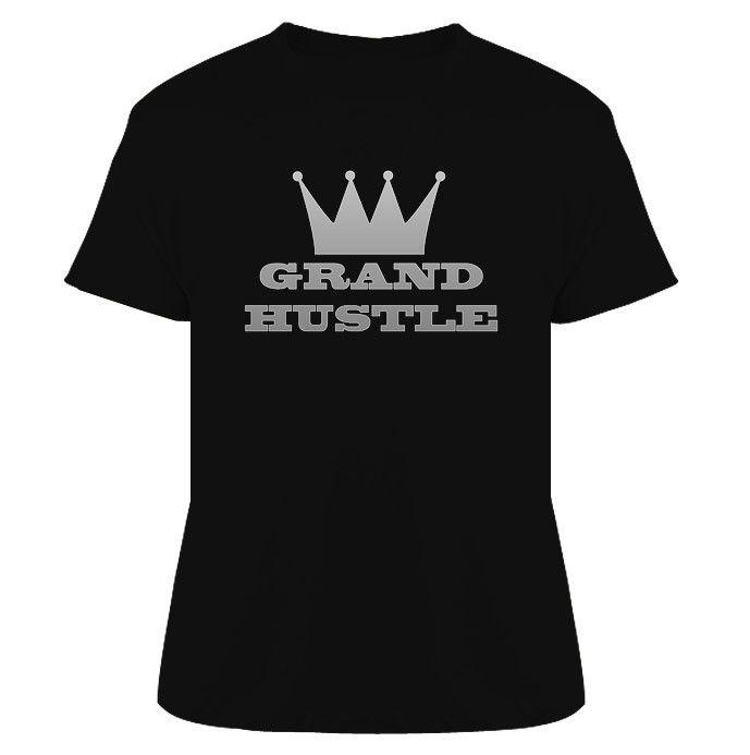 TI Grand Hustle Rap Hip Hop T Shirt Black