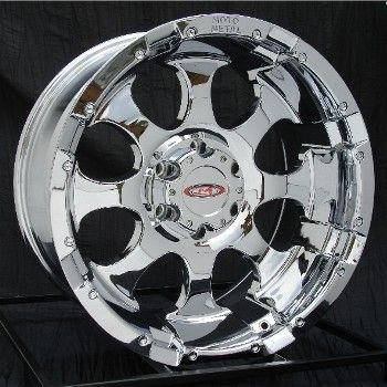 16 inch Chrome Wheels Rims Chevy Silverado GMC Truck