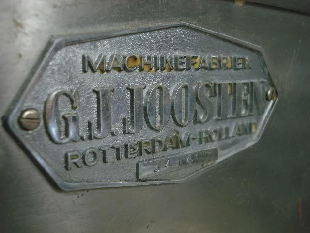 GJ Joosten Cookie Dough Cutter Depositor Machine