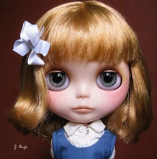 OOAK Custom Blythe Eye Chips Set C24 by ANA Karina