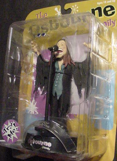 Ozzy Osbourne Action Figure Doll Black Sabbath Rock