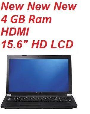 Lenovo Essential B575 15 HD 4GB AMD HDMI Windows 7 Laptop Notebook