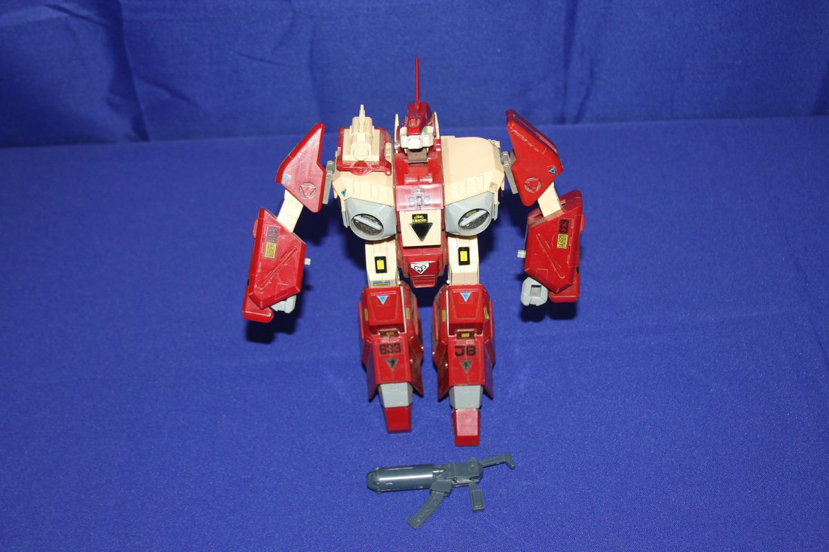 Robotech Macross Mospeda Gakken Red Alpha 1980s 1 35 Scale Triple