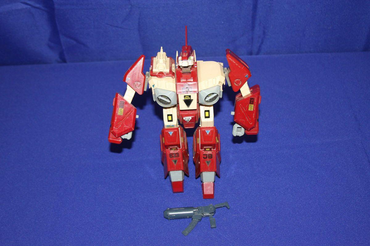 Robotech Macross Mospeda Gakken Red Alpha 1980s 1 35 Scale Triple