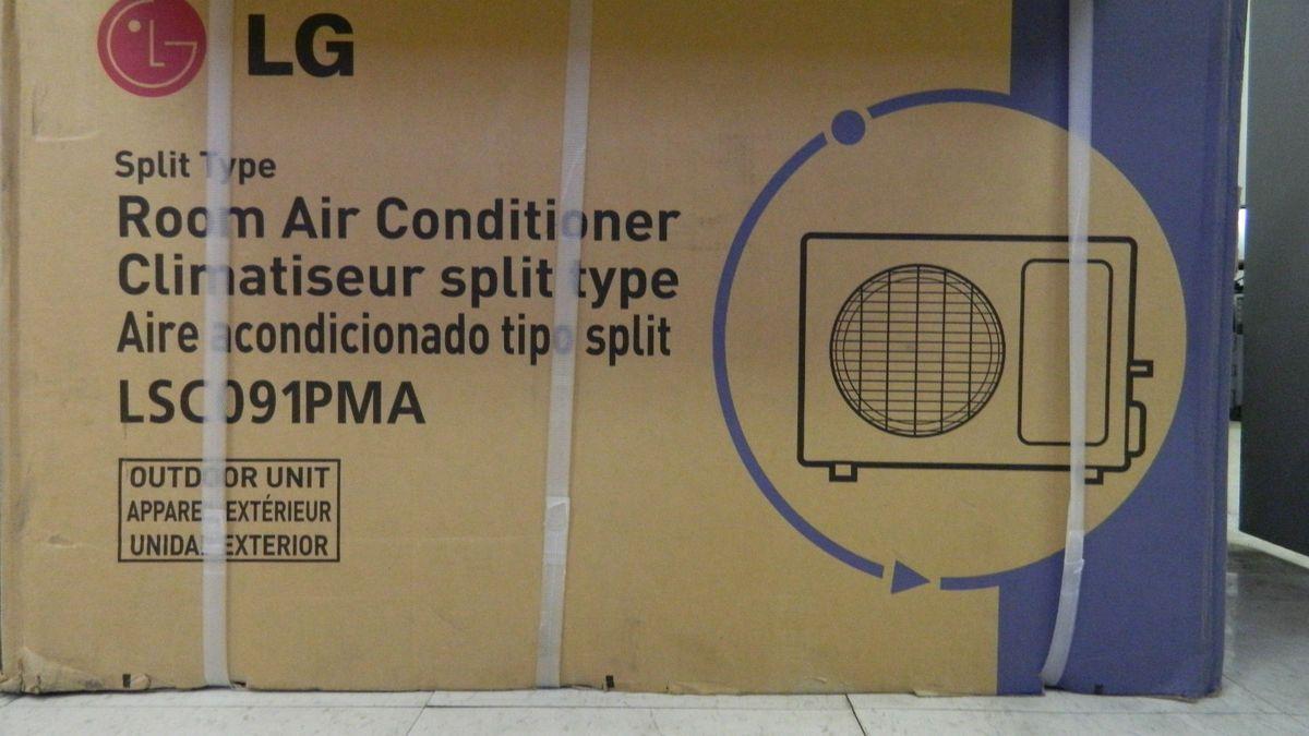 LG LSC091PMA 9000 BTU Split System Air Conditioner Outdoor Unit