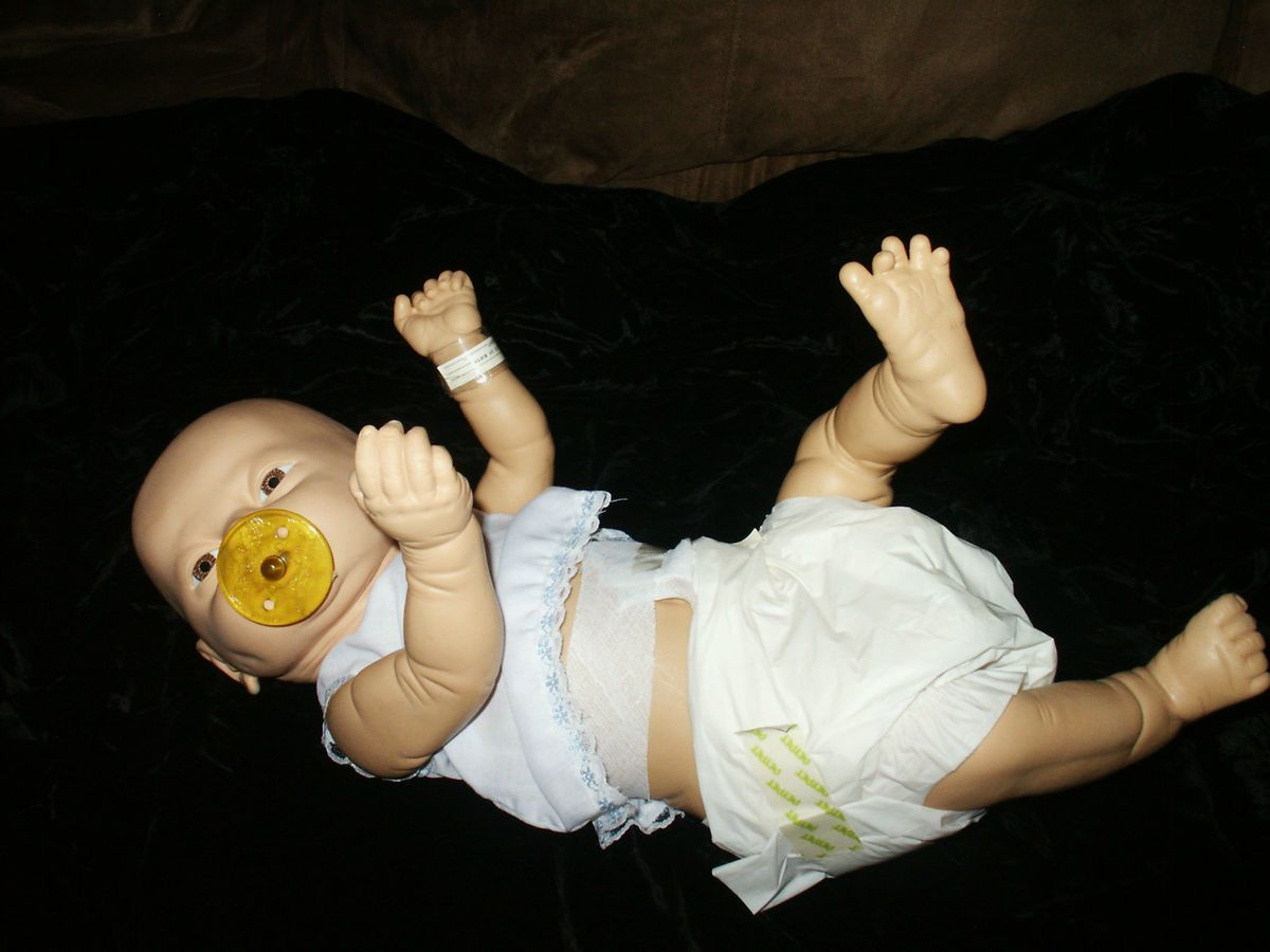 1988 Newborn Baby Boy Real Life Like in Deail wih Privae Pars