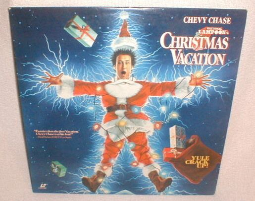 VG Laser Disc Point Christmas Vacation Chevy Chase