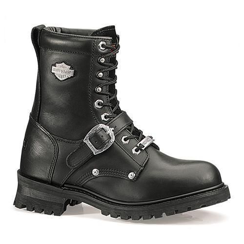 New Mens Harley Davidson Motorcycle Boots Faded Glory