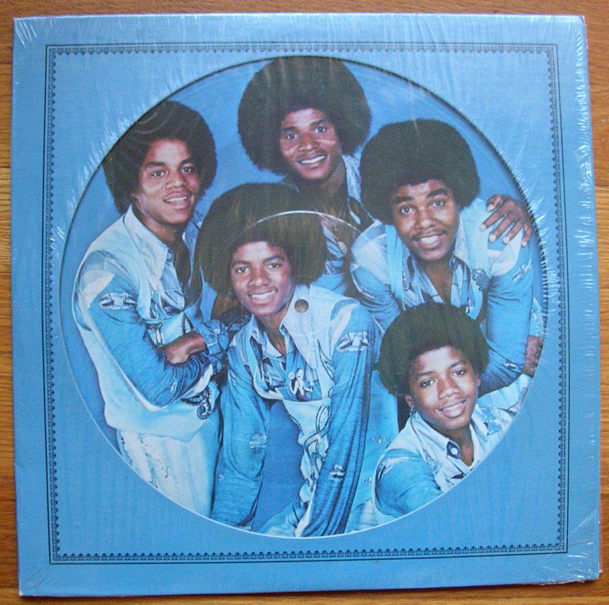 Michael Jackson Record Album LP The Jacksons Picture Disc RARE EXC