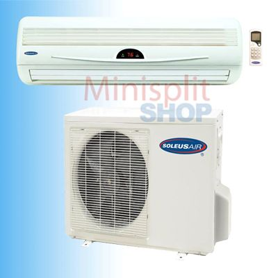 Ductless Mini Split 18000 Air Conditioner A C Cooling Heat Pump Soleus