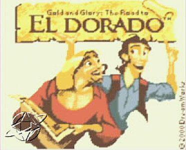 Gold and Glory The Road to El Dorado Nintendo Game Boy Color, 2000