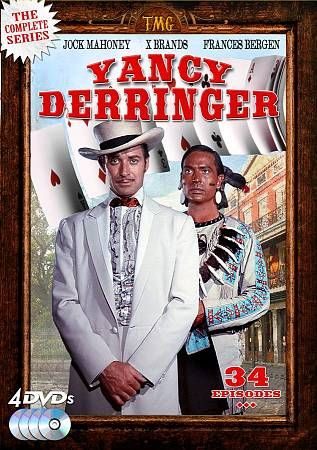 Yancy Derringer The Complete Series DVD, 2012, 4 Disc Set