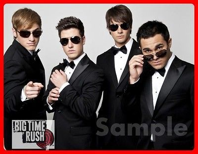 BIG TIME RUSH  TUXES T shirt for American Girl Doll and/or childs t