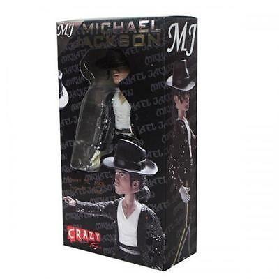 MICHAEL JACKSON MJ KING OF POP BILLIE JEAN CRAZY TOYS ACTION FIGURE
