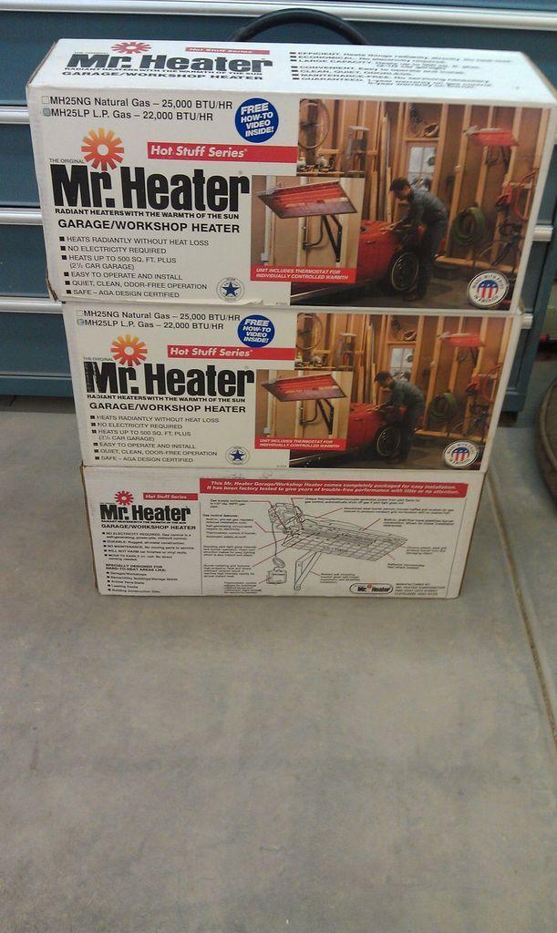 Mr. Heater Heater Radiant Propane Garage/Shop/Pa tio 22000 BTU/hr.