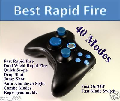 Newly listed 40 MODES XBOX 360 RAPID FIRE MODDED CONTROLLER DROP SHOT