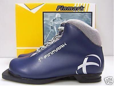 New Finmark NIB Boot 3 pin 75mm cross country ski boots women womens