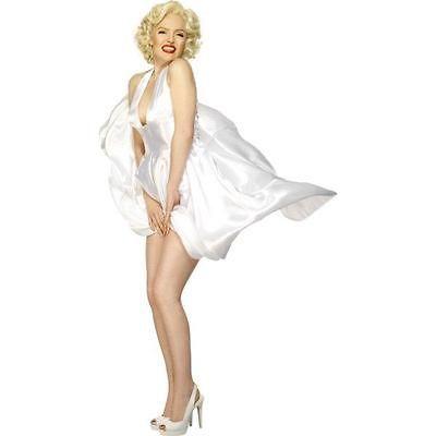 Marilyn Monroe Classic Halterneck Smiffys Fancy Dress Costume L