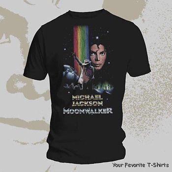 Licensed Michael Jackson Moonwalker Adult Shirt XS 3XL